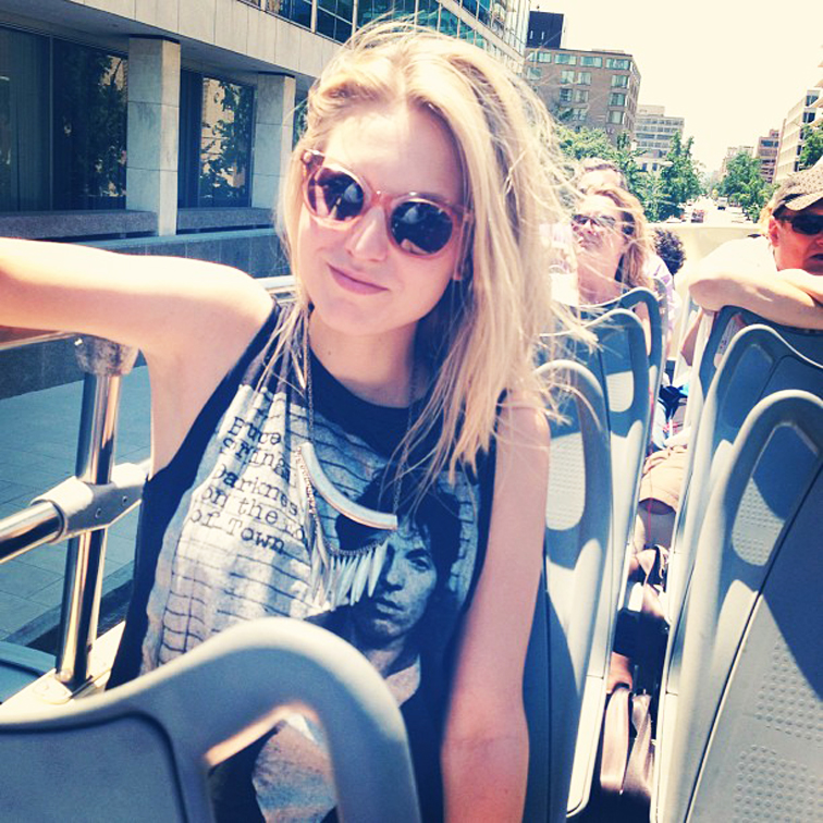 Tourist Tour Hop-on Hop-off Bus DC