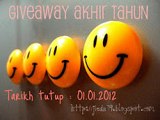 giveaway akhir tahun