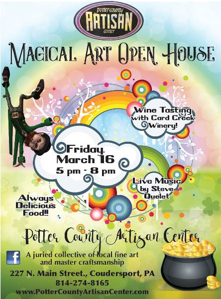 3-16 Magical Art Open House