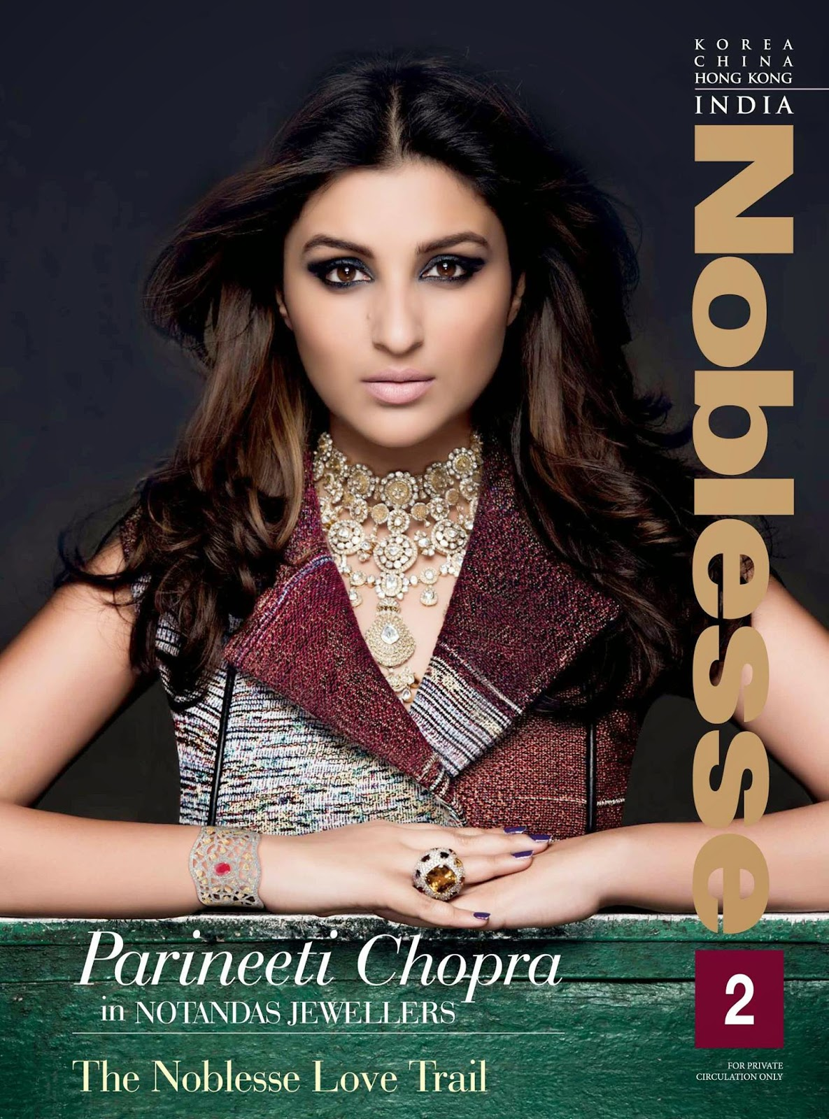 Actress: Parineeti Chopra For Noblesse India