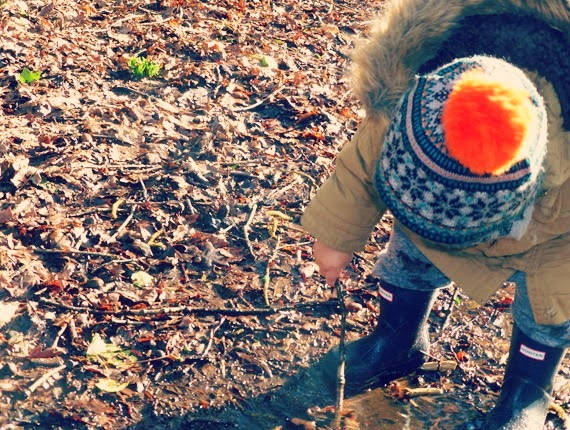 Toddler hunter wellies