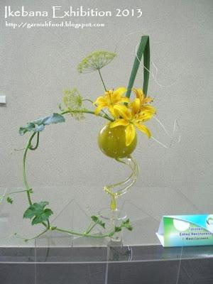 ikebana sogetsu exhibition 2013