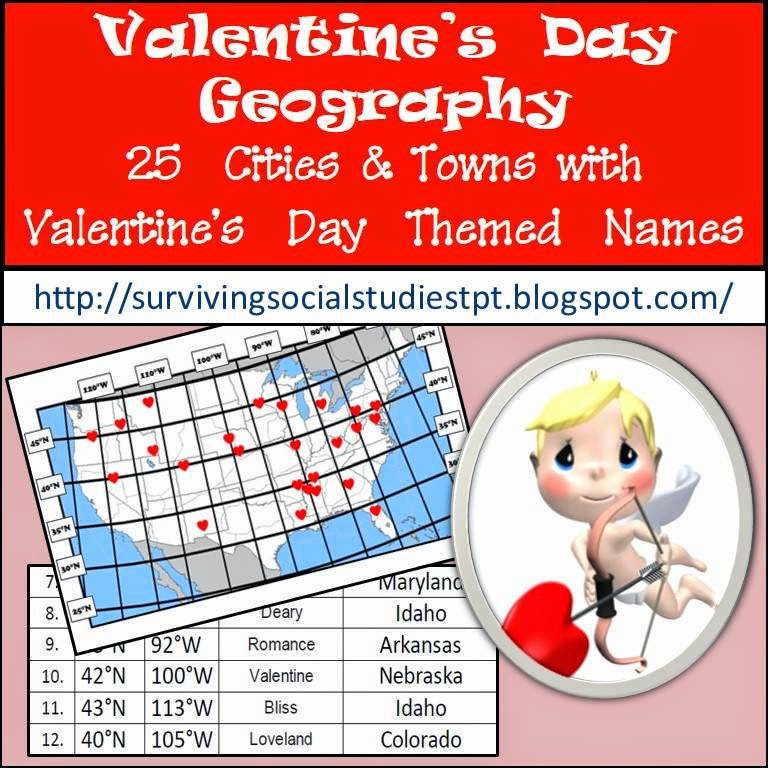 https://www.teacherspayteachers.com/Product/Valentines-Day-Geography-CitiesTowns-with-Valentines-Day-Names-in-the-USA-1648850