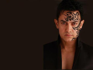 Bollywood Actor Aamir Khan Tattoo