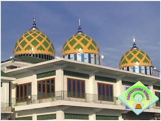 kubah masjid modern