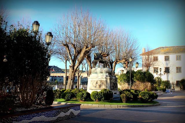 Parque Ramón de Campoamor en Navia