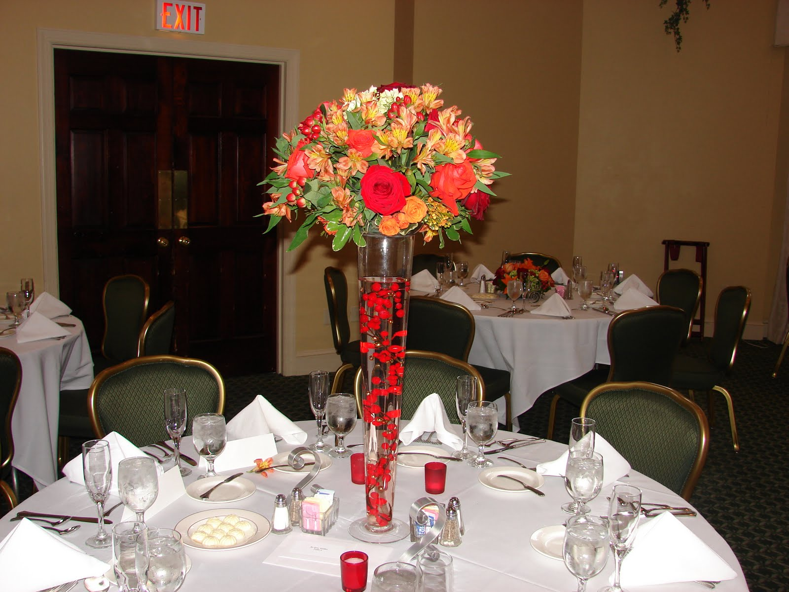 Har2heart planning wedding and event coordination fall for Fall wedding centerpieces