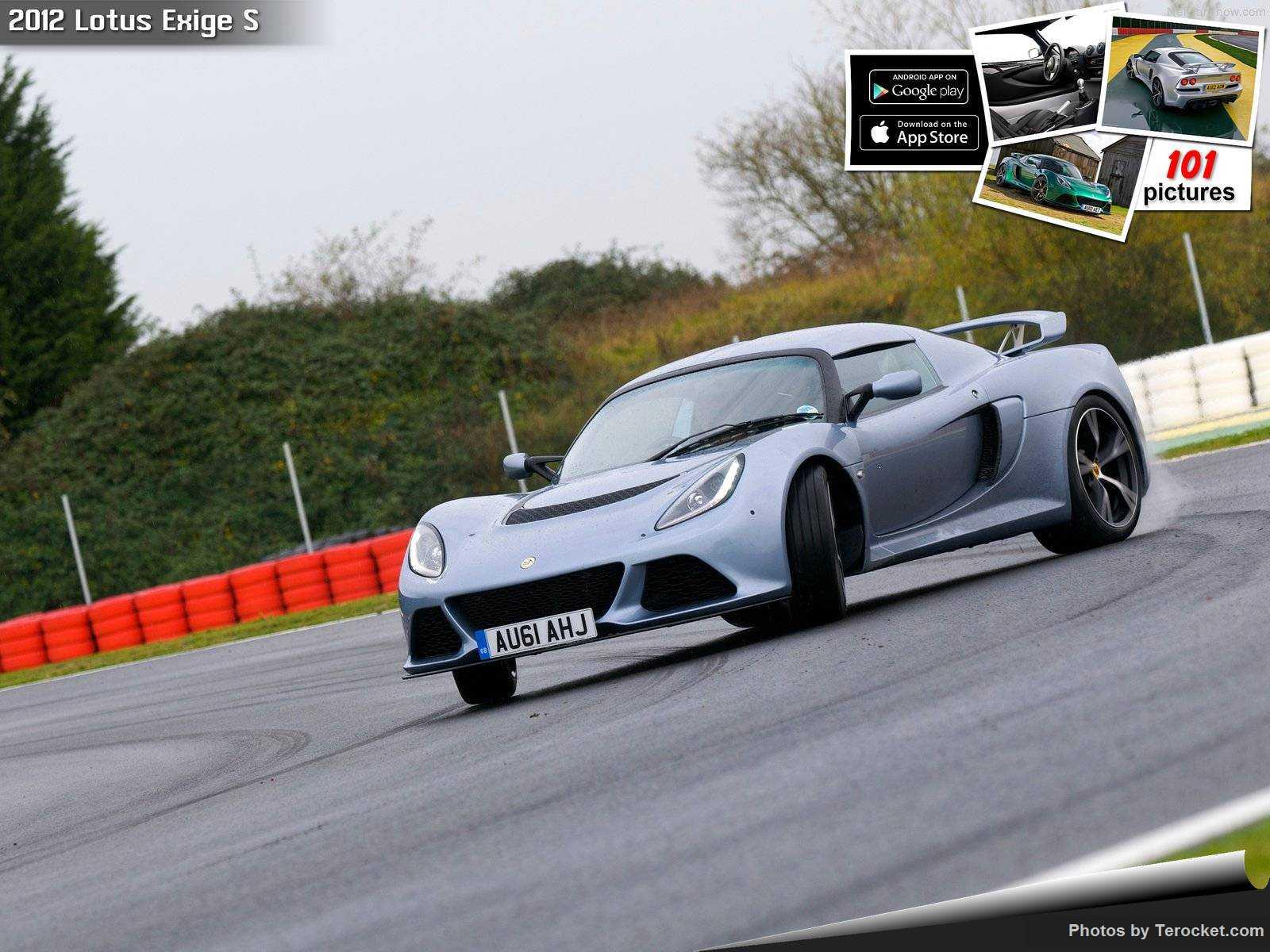Hình ảnh siêu xe Lotus Exige S 2012 & nội ngoại thất