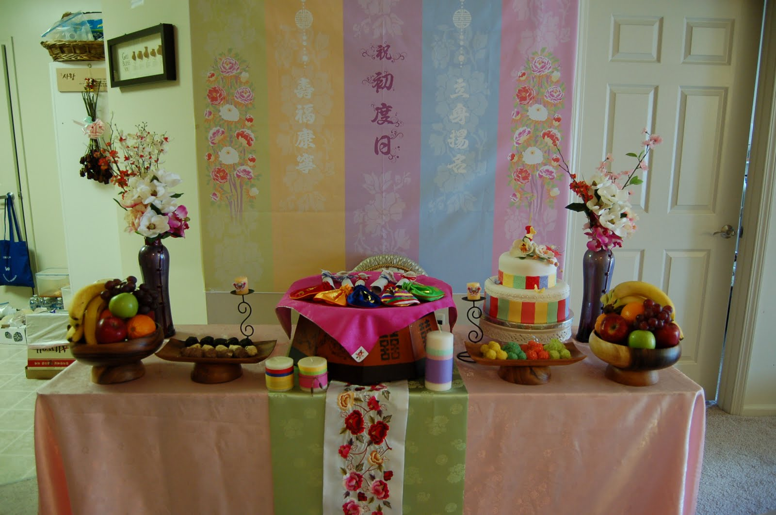 Korean Themed Party Decorations Haven Sweets April 2011