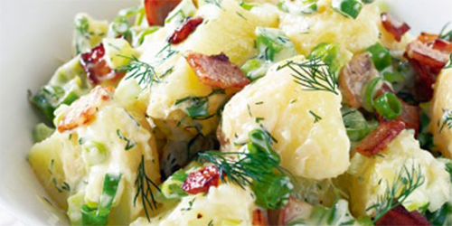 receta de ensalada de patatas y pimenton