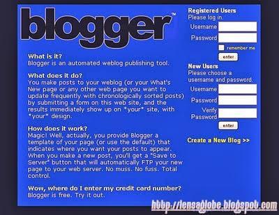 tampilan blogger jadul