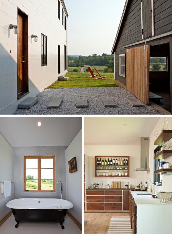 Black eiffel awesome modern modular farmhome for Prefab modern farmhouse