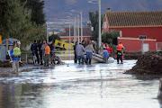 INUNDACIONES EN MURCIA. Desde Nuevas Generaciones de Los Alcázares queremos . inundaciones