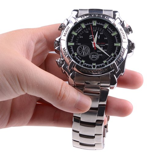 HD Waterproof Watch Recorder with NIGHT VISION