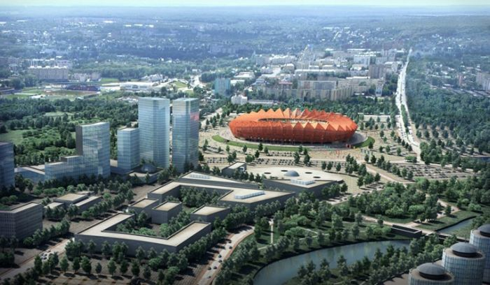 Saransk Russia  City new picture : Stadiums World Cup 2018 Russia : World Cup 2018 Stadiums Naga ...