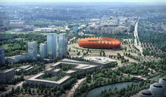 Saransk Russia  city photos gallery : Stadiums World Cup 2018 Russia : World Cup 2018 Stadiums Naga ...