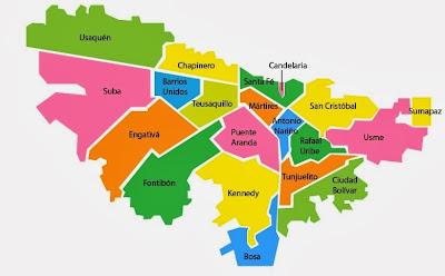 Localidad de usaqu n localidad usaquen for Direccion ministerio del interior bogota