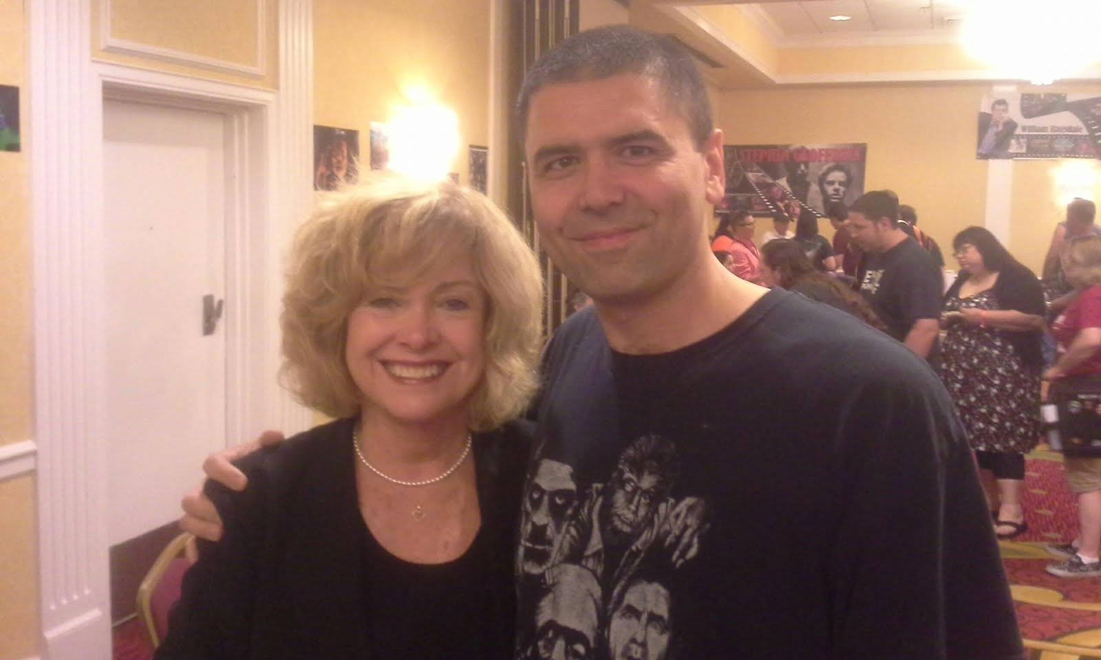 Me with Catherine Hicks
