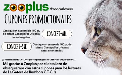 Zooplus Cupones Gato ZooCatLovers