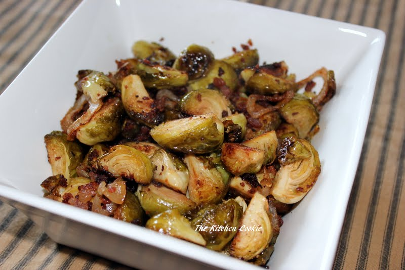 TheKitchenCookie: Roasted Brussel Sprouts and Shallots