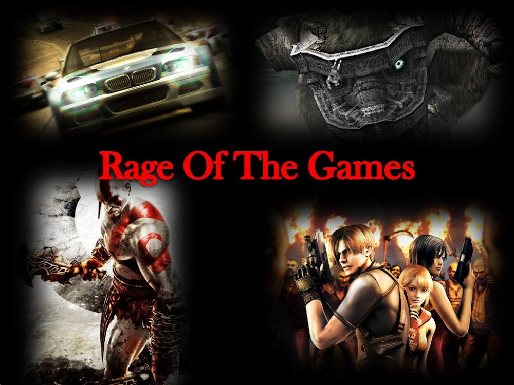 Rage Of The Games