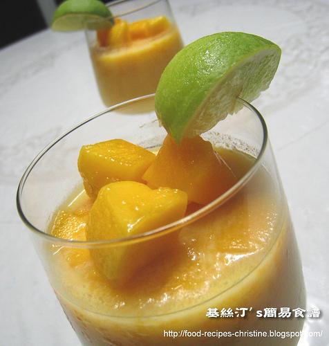 芒果布甸 Mango Pudding01