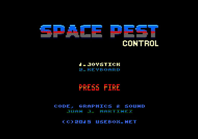En desarrollo Space Pest Control, un nuevo jump & shoot para Amstrad CPC