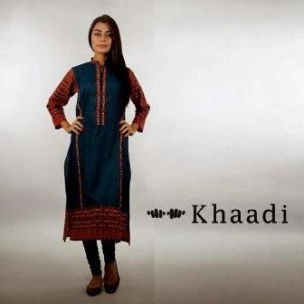 Khaadi Designs Shirt for Parites