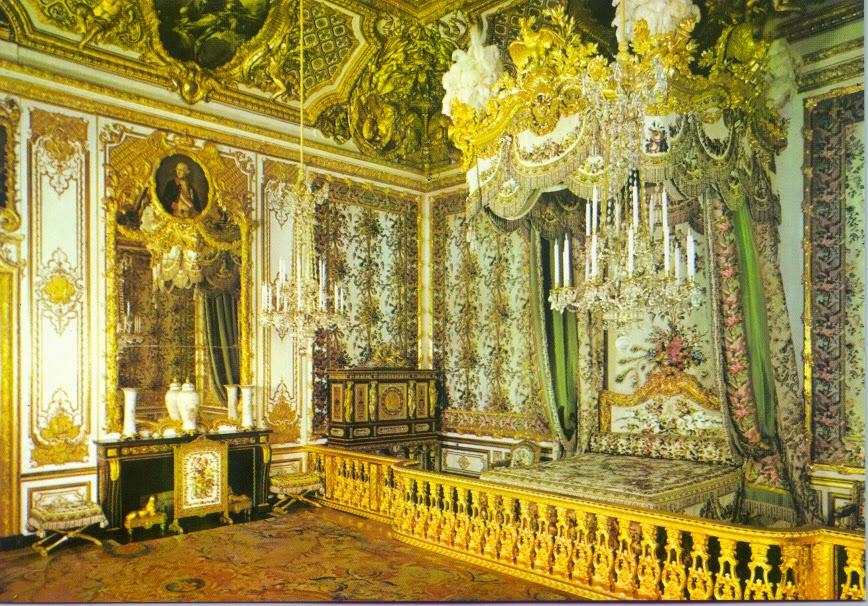 Dormitorio Reina del Palacio de Versalles, Paris