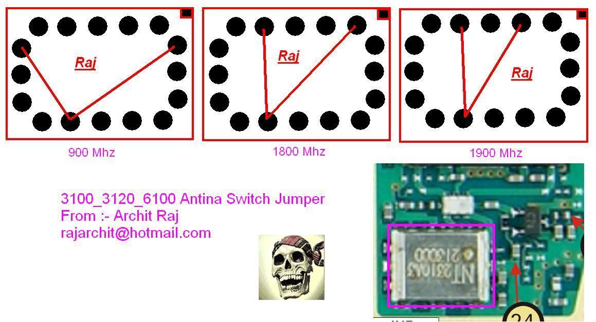 Trik Jumper Nokia 3100 20 Nokia 6100 Gsm Power