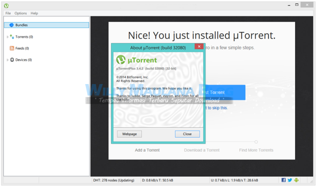 Download uTorrent Pro v3.4.2 build 36615 Terbaru
