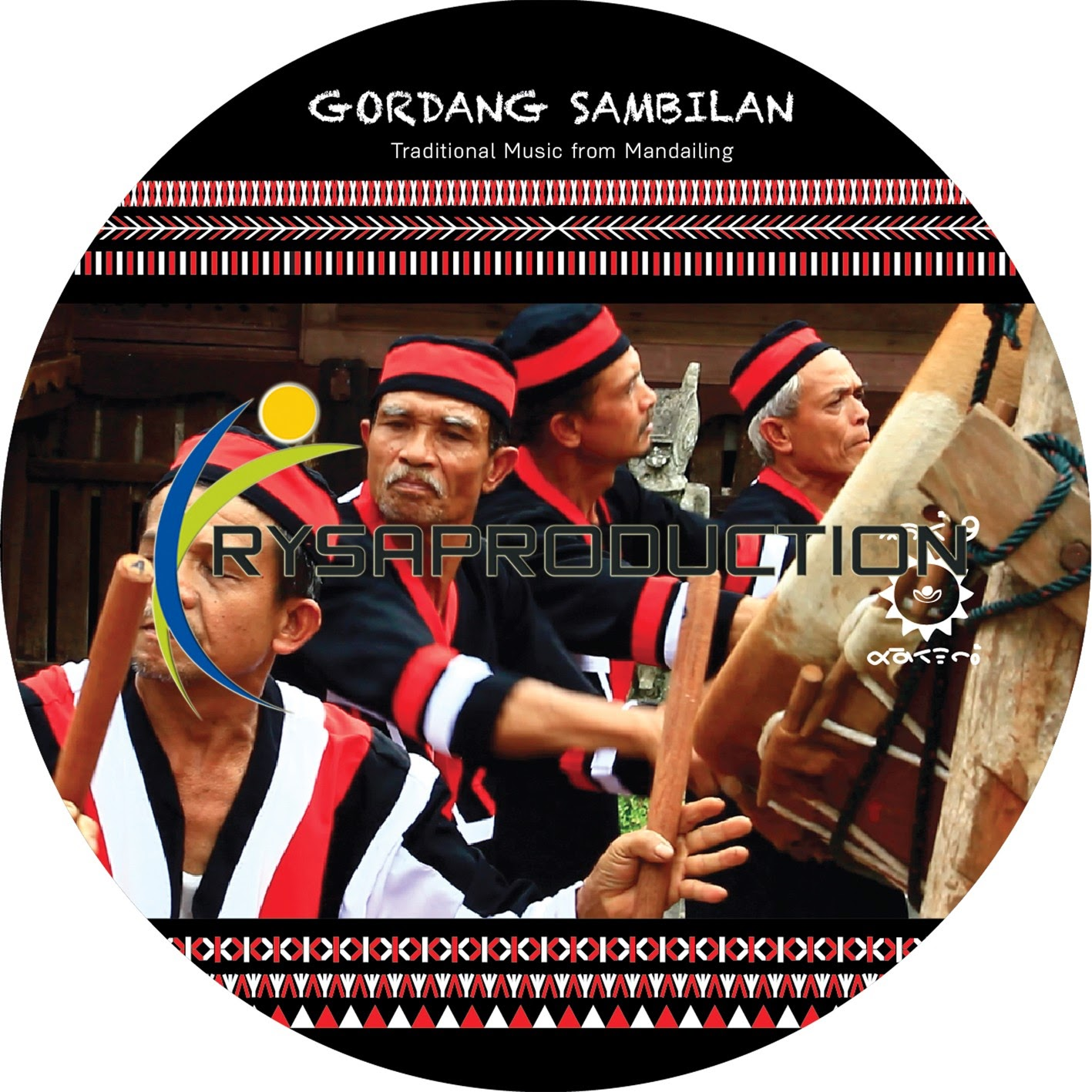 CD DVD Mandailing