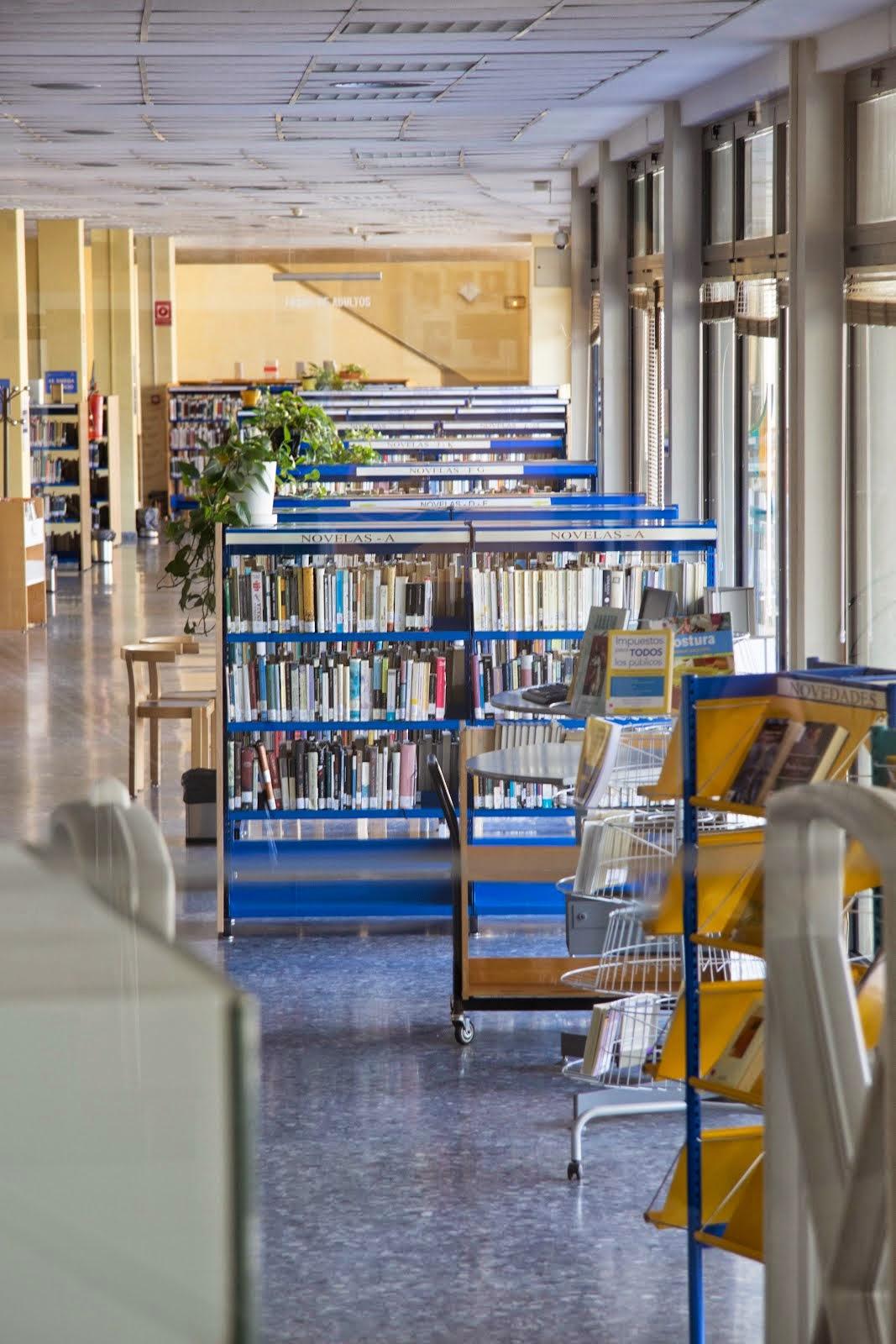 Edificio de la biblioteca