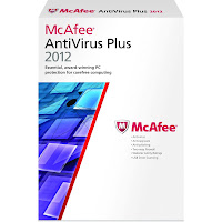 McAfee Anti-virus Plus 2012-2013 6 months trial