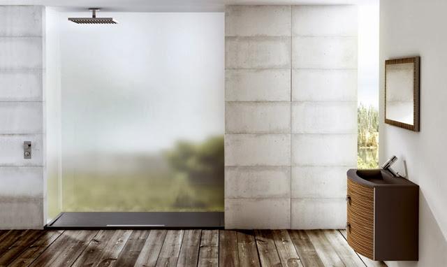 Душевой поддон Fiora Silex Avant в ванной комнате