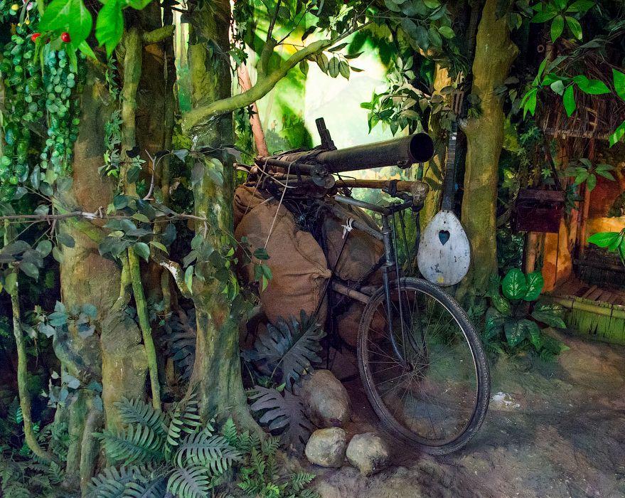 Vietnam war museum in Hanoi