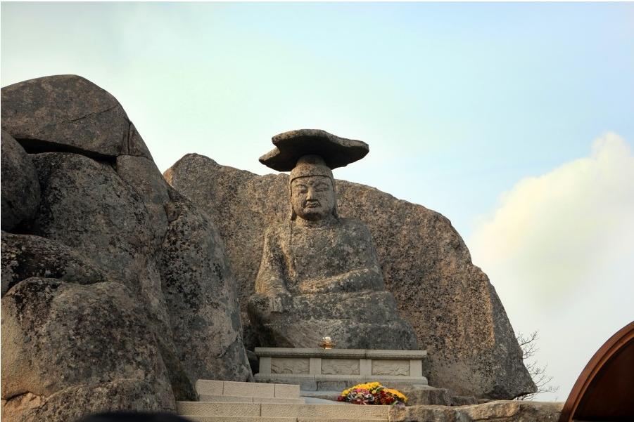 Gatbawi Stone Buddha Daegu