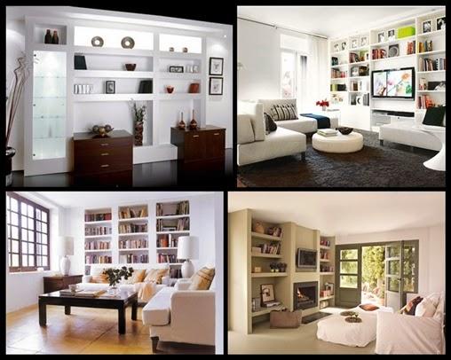 Habitambientes abril 2014 - Muebles de obra para salon ...