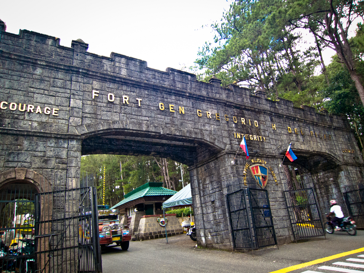 in anywhere else philippine military academy baguio