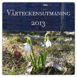 Vårteckenutmaning   2013