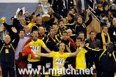 MAS Coupe Trone mas trone coupe maroc maghreb de fes vs CODM 2011