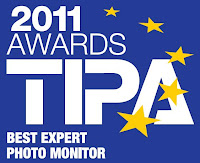 Best Expert Photo Monitor TIPA awards 2011