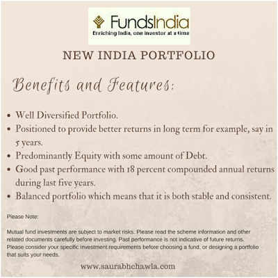 fundsindia New India Portfolio Benefits and Features