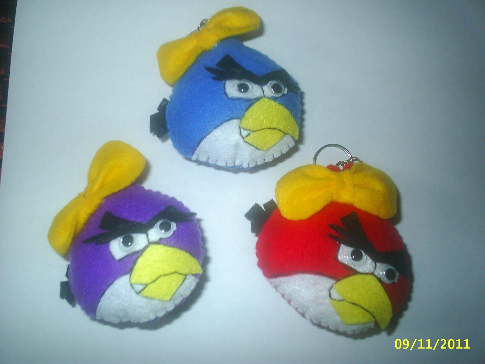Psst...keychain angry bird ni jg termasuk dlm hasil f.craft yg anda