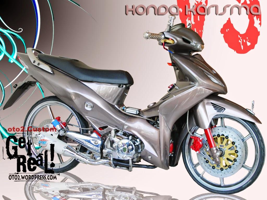 Foto Modifikasi Honda Kharisma Monoshock Terbaru