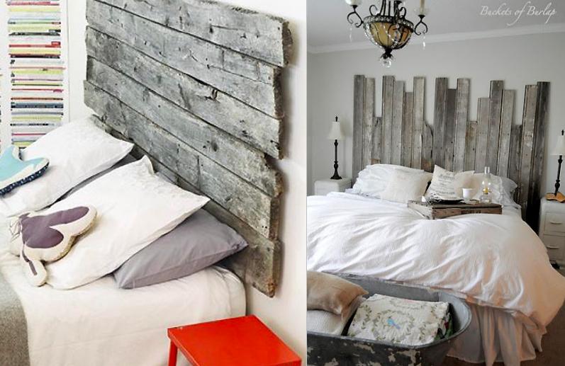 10 cabeceros de cama hechos con palets ideas eco - Cabecero cama palets ...