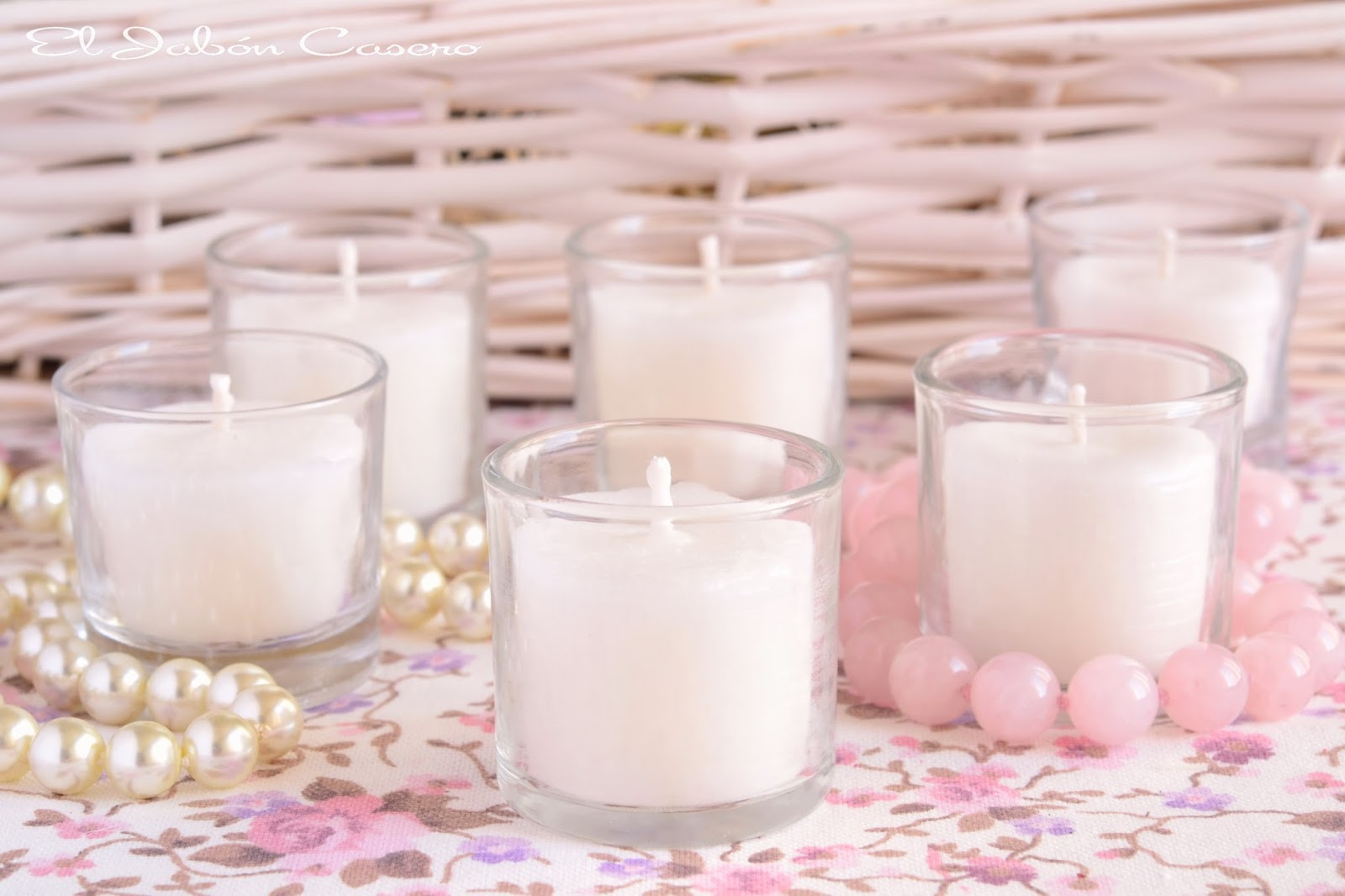 detalles para bodas velas de cera natural