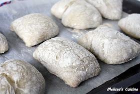 Melissa's Cuisine: Ciabatta Rolls
