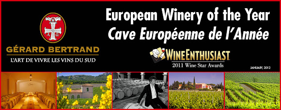 Logo Gerard bertrand European winery of the year