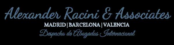 Alexander Racini Associates | Madrid España | Despacho de Abogados Internacional